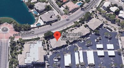 Atlas Health Medical Group Map